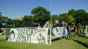 Jornada de Justicia por Ismael Sosa en Plaza La Carbonera