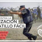 Flyer Mar del Plata Gatillo Fácil