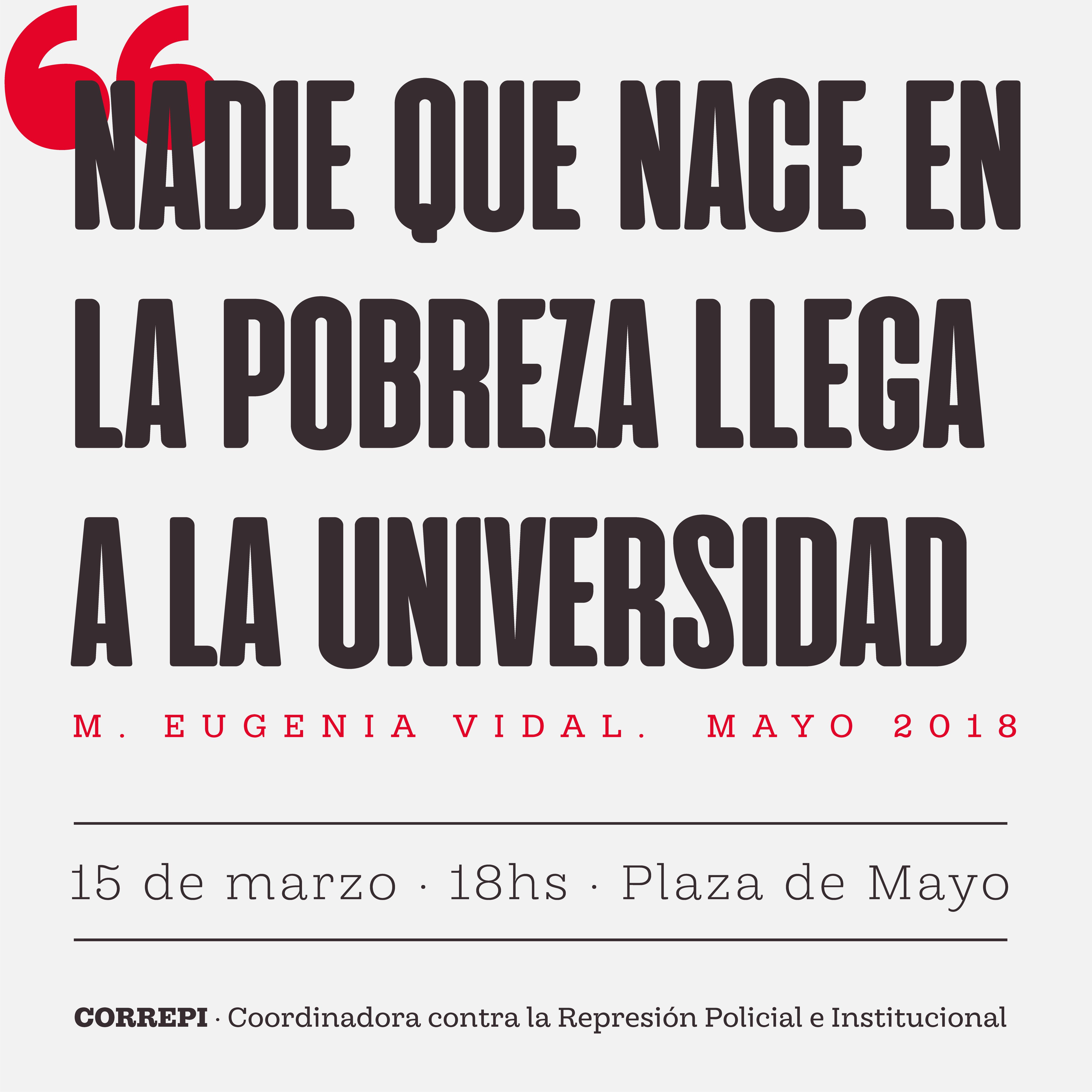 #15M #PlazaDeMayo #Cada21hs #ALasCalles #BastaDeRepresion