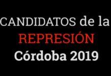 Candidatos de la Represión Córdoba